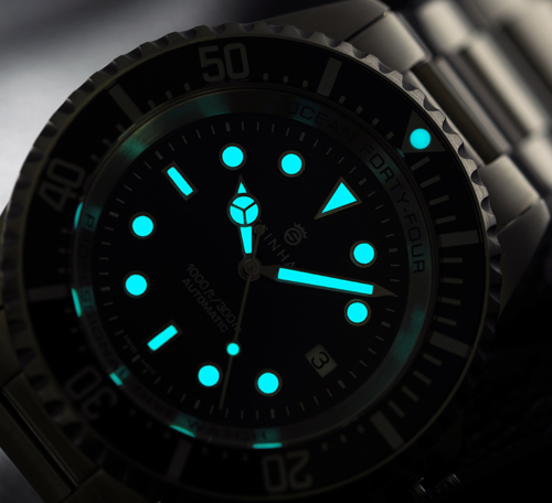 Steinhart Deep Sea 44mm Ocean Luminova