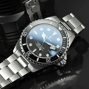 Steinhart Ocean 1 39mm Black Ceramic Bezel inlay