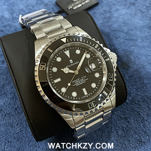 Steinhart Ocean 1 Black Ceramic Bezel inlay
